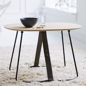 Scandinavian Wood Side Table - Sierra