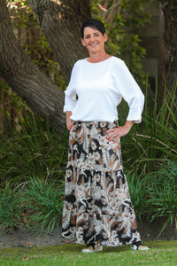 Coco Tiered Skirt