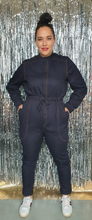 Load image into Gallery viewer, Blue Denim Boilersuit