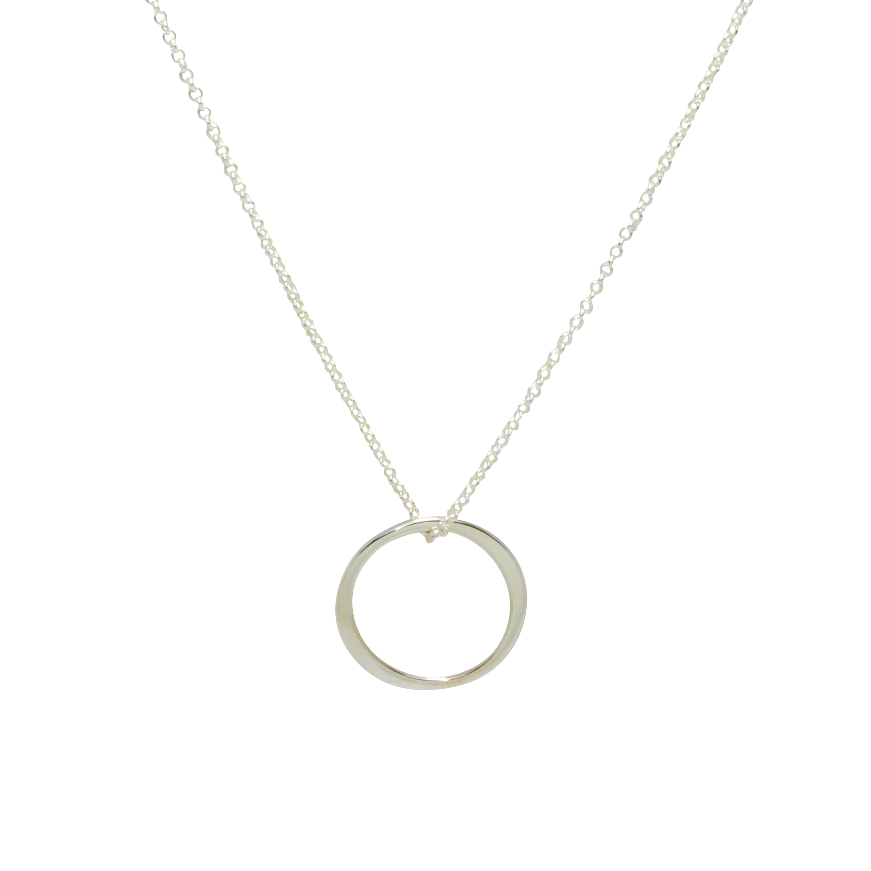 Inner Circle Necklace - Sterling Silver