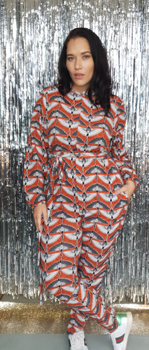 Printed Boilersuit