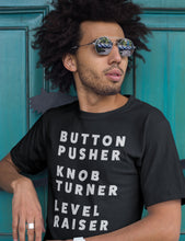 Load image into Gallery viewer, Button Pusher T-Shirt WavKind