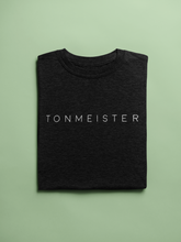 Load image into Gallery viewer, Tonmeister Unisex T-Shirt in Black & Heather Black - Free Shipping!