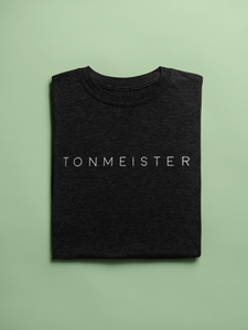 Tonmeister Unisex T-Shirt in Black & Heather Black - Free Shipping!