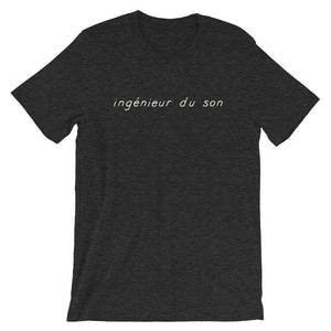 ingénieur du son T-Shirt in dark grey midnight