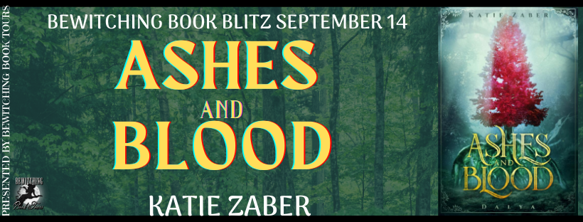 September 14 Book Blitz for Ashes and Blood by Katie Zaber