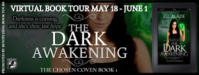 May 22 #BookTour The Dark Awakening by D.L. Blade #books #amreading