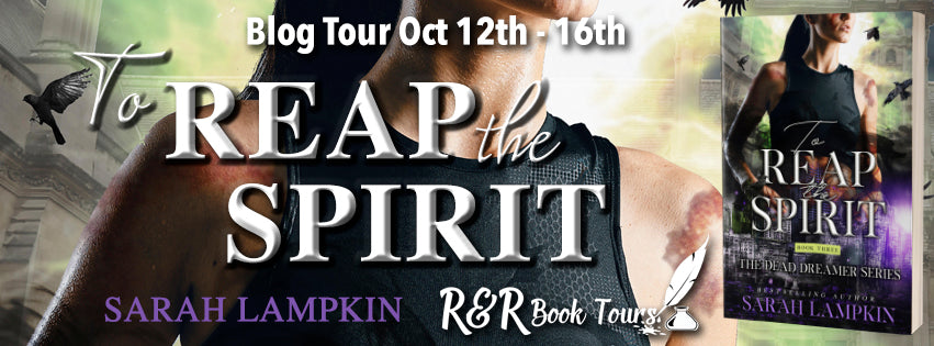 October 13 Book Tour The third installment in the haunting Dead Dreamer series.