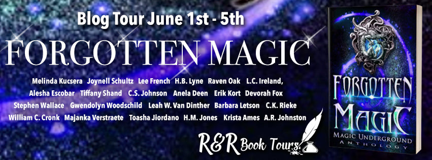 June 3 #BookTour Forgotten Magic (Magic Underground #3) #Books #Kindle #Giveaway