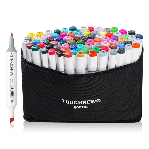 June 10 #Art Supply Review: Touch New Alcohol Markers Are They Any Good?