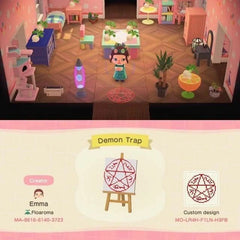 demon cage animal crossing