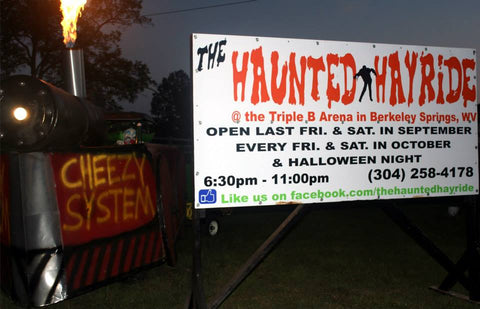 Haunted Hayride Berkeley Springs WV