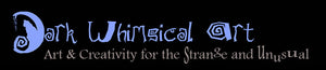 Dark Whimsical Art Logo