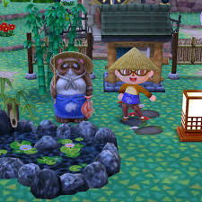 animal crossing tanuki