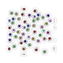 Load image into Gallery viewer, Halloween Eyeballs Everywhere Kiss-Cut Stickers