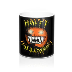 Happy Halloween scary pumpkin Coffee Mug
