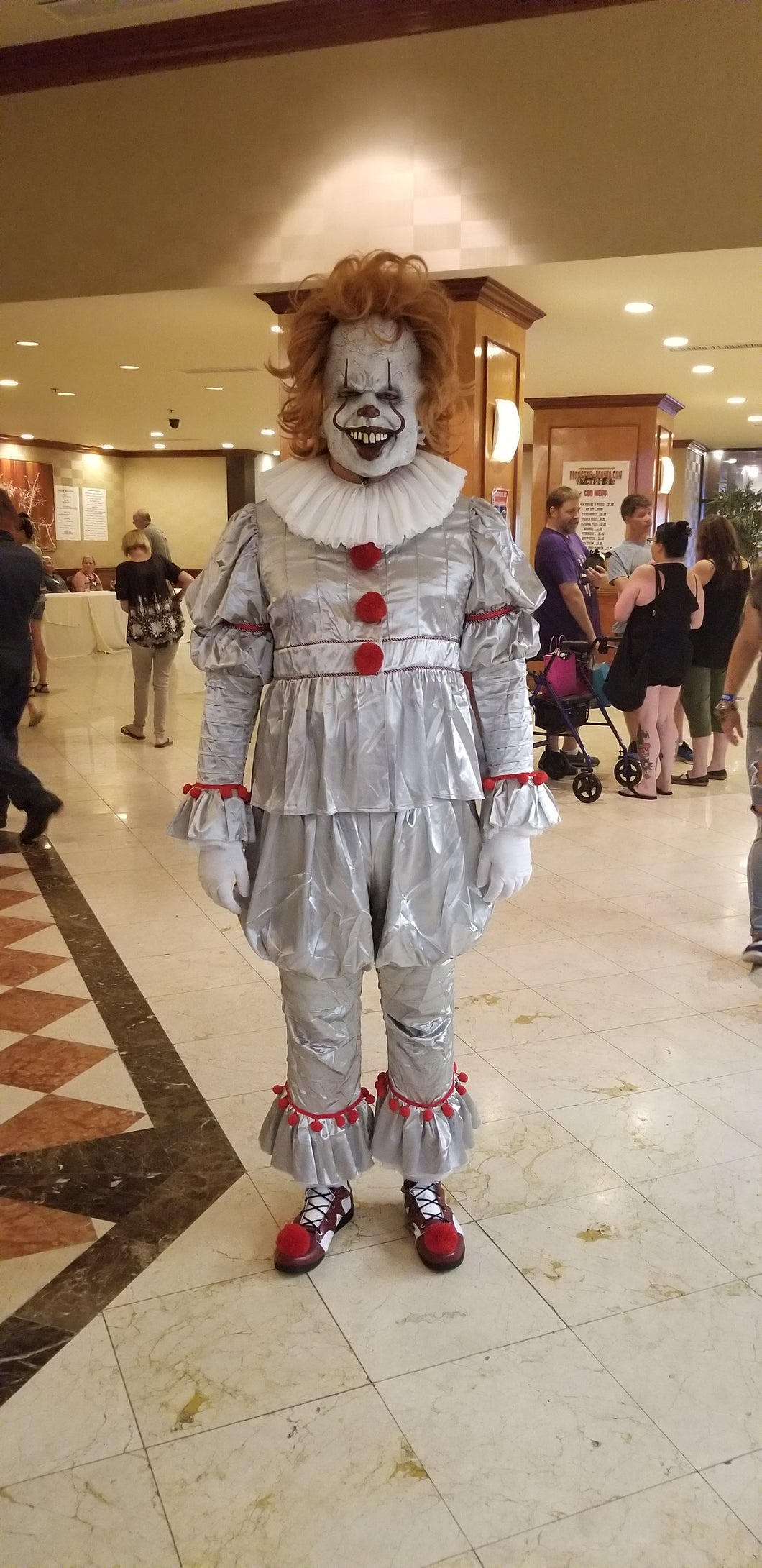 Scary Halloween Clown