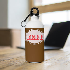 Beer Stainless Steel Water Bottle