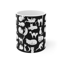Load image into Gallery viewer, Cute Cats Playing Coffee Mug 11oz