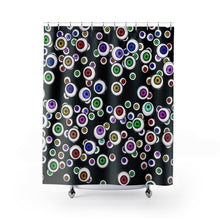 Load image into Gallery viewer, Eyeballs Everywhere Goth Home Decor Halloween Shower Curtains