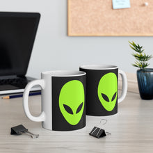 Load image into Gallery viewer, Alien Head Mug 11oz