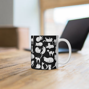 Cute Cats Playing Coffee Mug 11oz