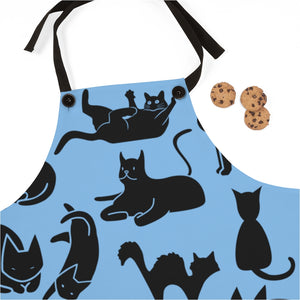 Cute Cats Playing Apron