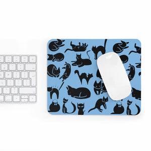 Cute Cats Playing Mousepad