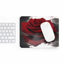 Load image into Gallery viewer, Surreal Red Rose Sinking into Water Mousepad