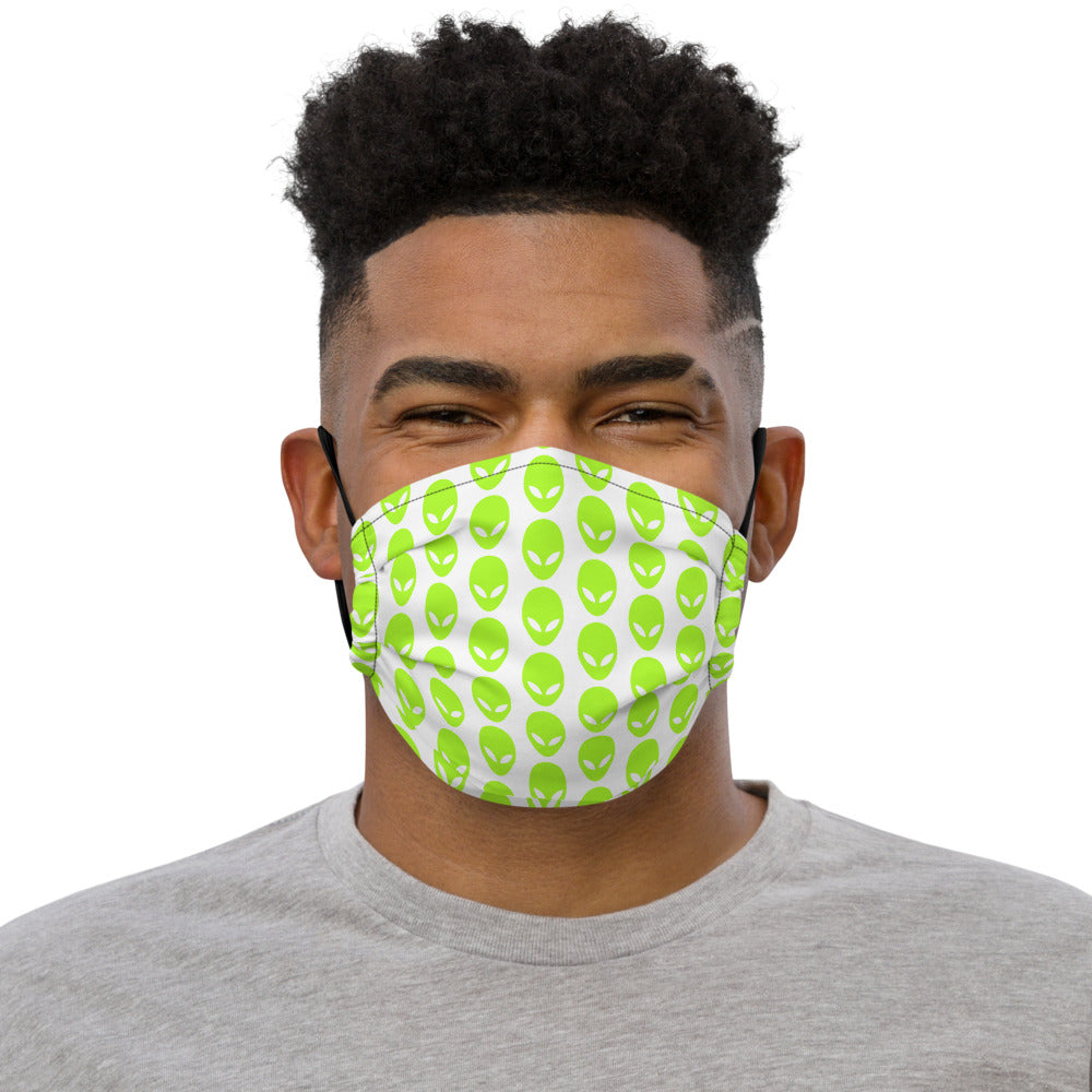 Alien PatternPremium face mask