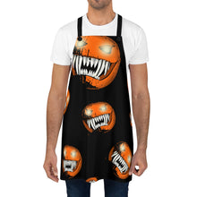 Load image into Gallery viewer, Scary Creepy Halloween Pumpkin Apron For Art or Cooking