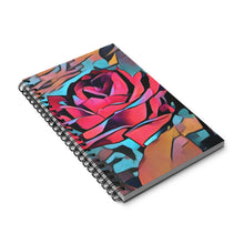 Load image into Gallery viewer, Abstract Rose Spiral Journal  Size 5 x 8