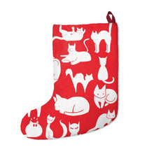 Load image into Gallery viewer, Cute Cats Playing Christmas Stocking