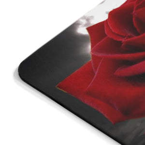 Surreal Red Rose Sinking into Water Mousepad