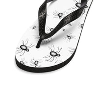 Crawling With Spiders Unisex Flip-Flops
