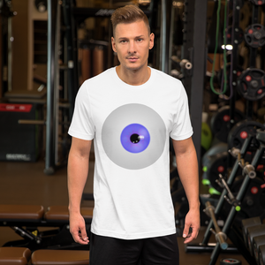 eyeball t-shirt so creepy and perfect for Halloween