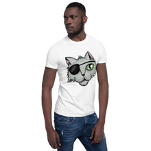 Load image into Gallery viewer, Cartoon Pirate Cat Short-Sleeve Unisex T-Shirt for Men and Women