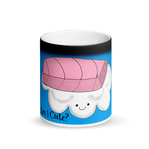 Hidden picture color change cute sushi Mug for coffee gift for anyone