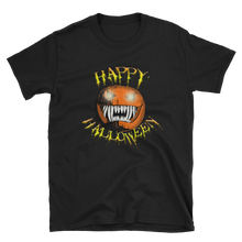 Load image into Gallery viewer, Happy Halloween Scary Pumpkin Short-Sleeve Unisex T-Shirt