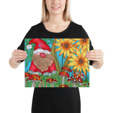 Load image into Gallery viewer, The Gnome Art Print by Roxanne Crouse Photo paper poster