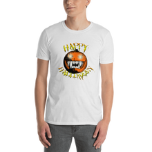 Load image into Gallery viewer, Happy Halloween Scary Pumpkin Short-Sleeve Unisex T-Shirt white