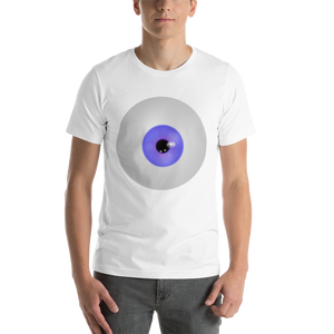I've Got My Eye On You Short-Sleeve Unisex T-Shirt halloween large eyeball