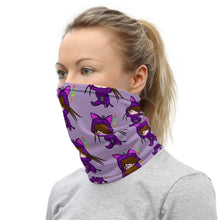 Load image into Gallery viewer, Cute Kawaii Cat Girl Neck Gaiter