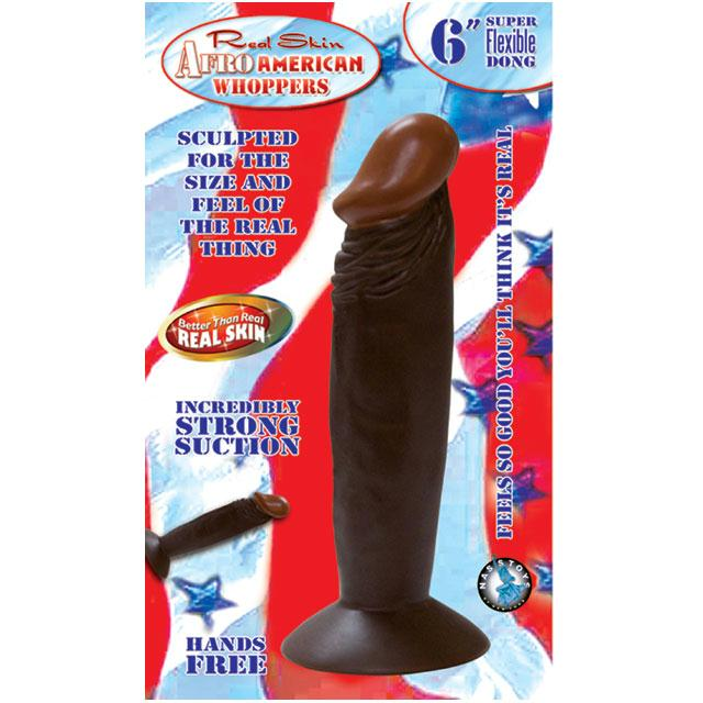 Afro American Whoppers 6in. Straight Dong