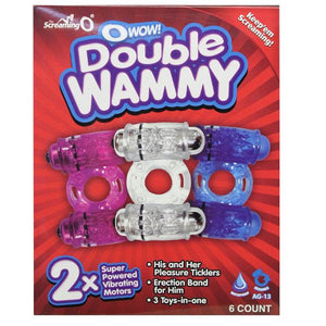 Screaming O Double Wammy (Box of 6)