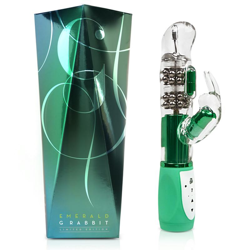Luxe - Emerald G Rabbit - Emerald Green