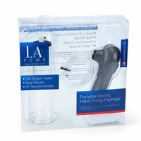 LA Pump Portable Electric Hand Pump Package 2 x 9in, packaged