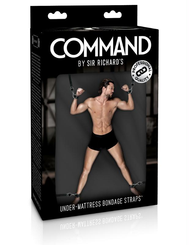 Sir Richard Command Under-Mattress Bondage Straps