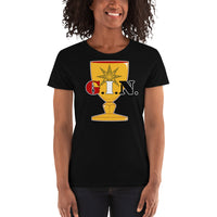 "G.I.N. Goddess In the Nude  ""Royal Chalice"" T -Shirts"
