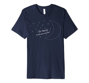 Sweet Moon I Love Ramadan to the Moon and Back Premium T-Shirt